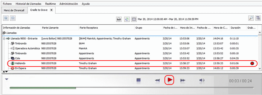 Avaya Call Reporting-Recording Library