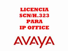 Imagen de Avaya Licencia SCN / 4 troncales H.323