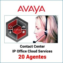 Avaya Call Reporting IP Office Cloud Services 20 agentes
