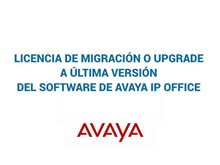 Imagen de Avaya Licencia de migración o Upgrade a última versión